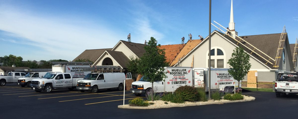 Re-Roofing | Mueller Roofing | New Lenox | Frankfort | Plainfield